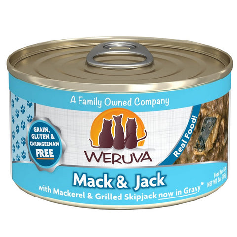WERUVA Cat Canned - Mack & Jack - Mackerel