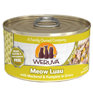 WERUVA Cat Canned- Meow Luau - Mackerel & Pumpkin