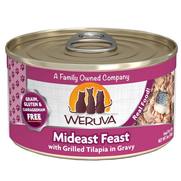 WERUVA Cat Canned - Mideast Feast - Tuna