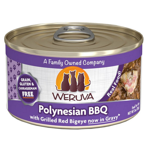 WERUVA Cat Canned- Polynesian BBQ - Tuna