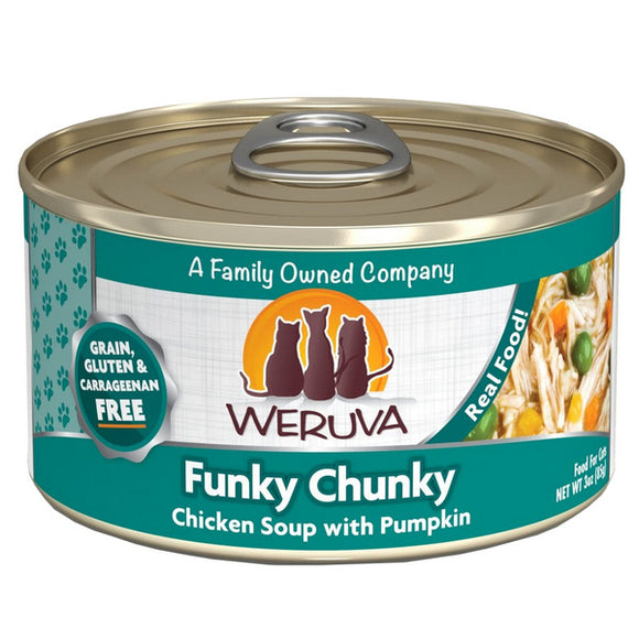 WERUVA Cat Canned - Funky Chunky Chicken Soup