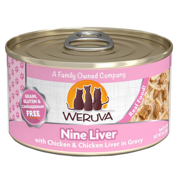 WERUVA Cat Canned - Nine Liver - Chicken