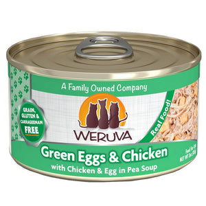 WERUVA Cat Canned - Green Eggs & Chicken