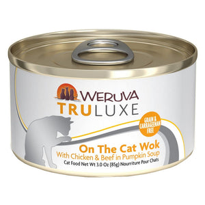 WERUVA Truluxe Cat Canned - On The Cat Wok - Chicken & Beef