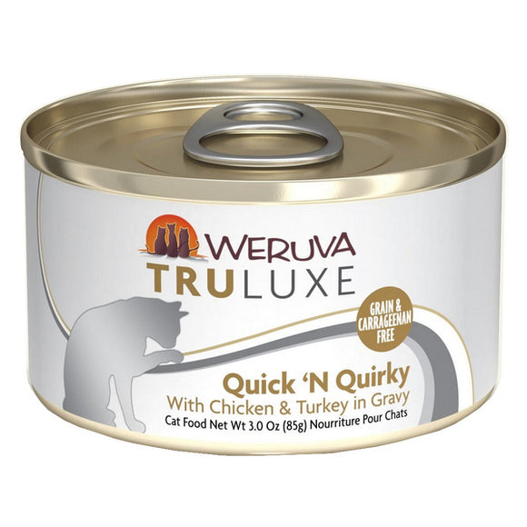 WERUVA Truluxe Cat Canned - Quick N Quirky - Chicken & Turkey