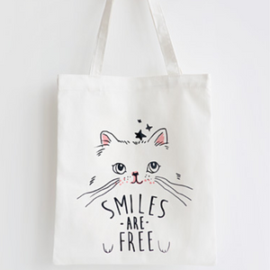 Tote Bag - Smiles are Free