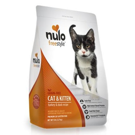 NULO Cat Food - Cat & Kitten - Turkey & Duck
