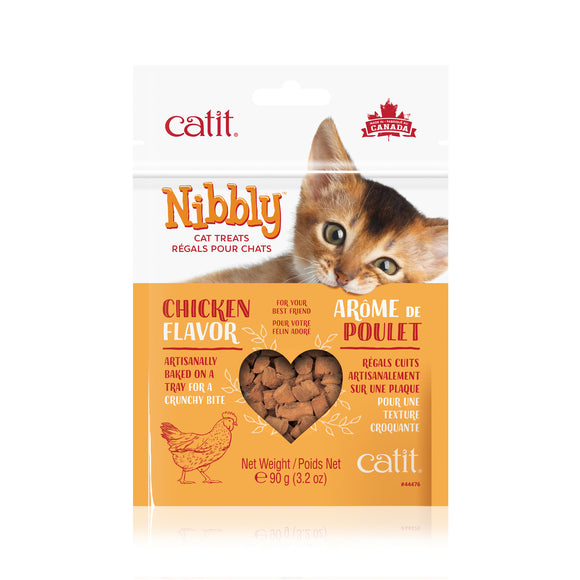 CATIT Nibbly Cat Treats - Chicken