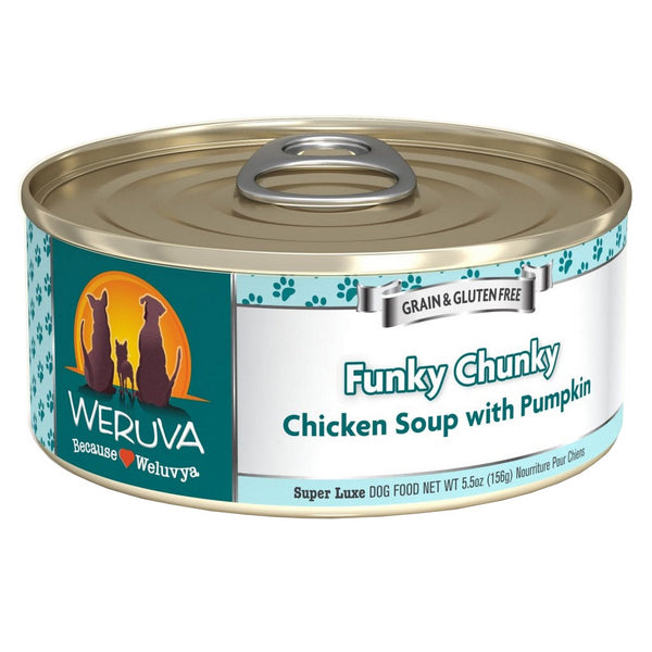 WERUVA Dog Canned - Funky Chunky Chicken Soup