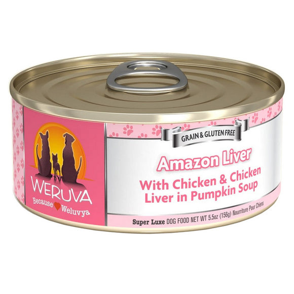 WERUVA Dog Canned - Amazon Liver - Chicken & Pumpkin