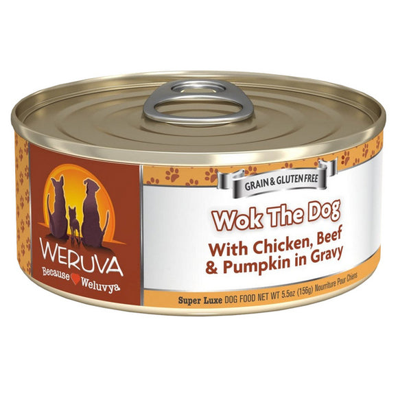 WERUVA Dog Canned - Work the Dog - Chicken & Beef