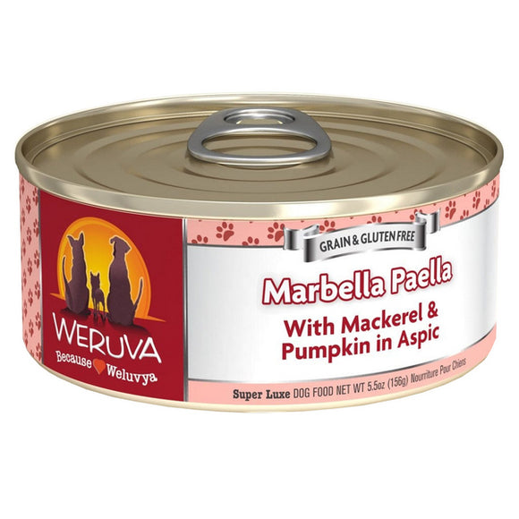 WERUVA Dog Canned - Marbella Paella - Mackerel