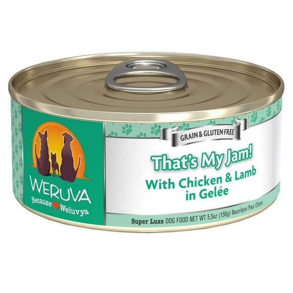 WERUVA Dog Canned - That's My Jam - Chicken & Lamb