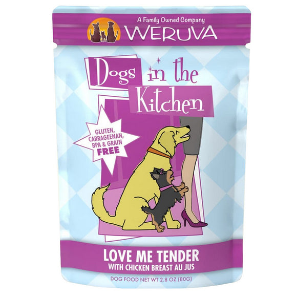 Dogs in the Kitchen Pouch - Luv Me Tender - Chicken