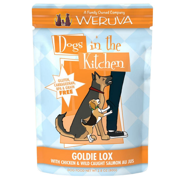 Dogs in the Kitchen Pouch - Goldie Lox - Chicken & Salmon