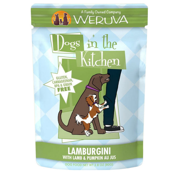 Dogs in the Kitchen Pouch - Lamb Burgini