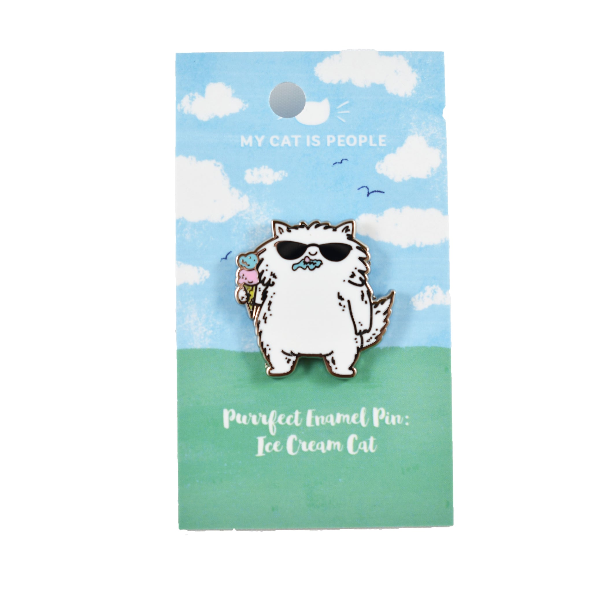Enamel Pin - Ice Cream