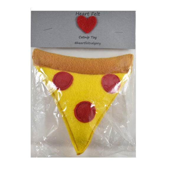 Catnip Toy - Pizza