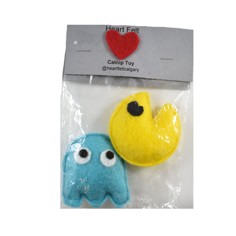 Catnip Toy - Pac Man