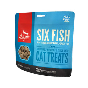 ORIJEN Cat Treats Freeze Dried - Six Fish