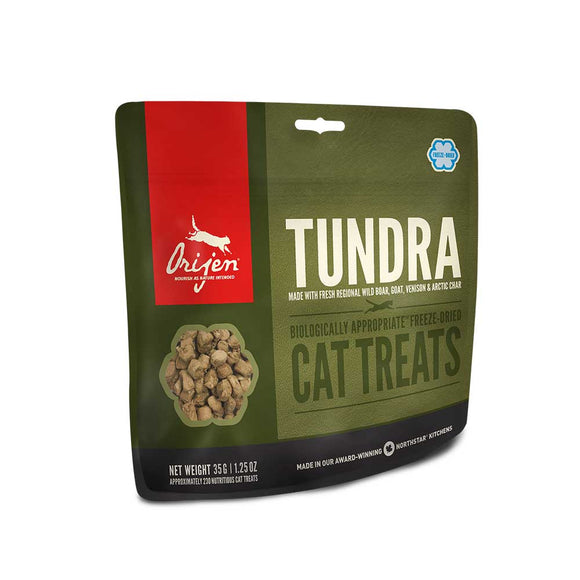 ORIJEN Cat Treats Freeze Dried - Tundra