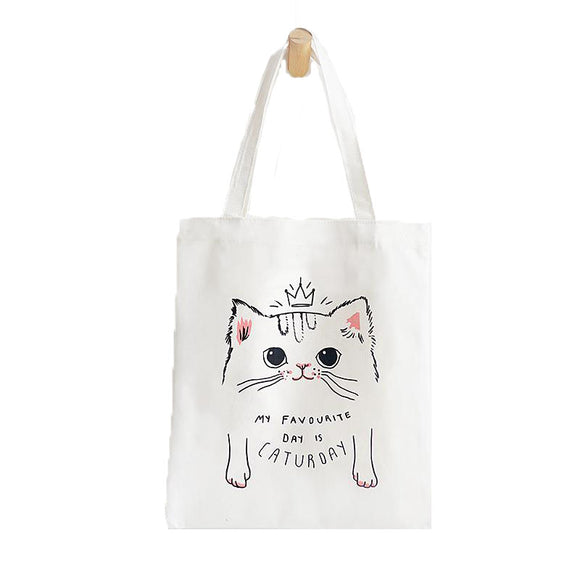 Tote Bag - My Favourite Day is Caturday