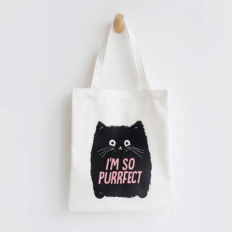 Tote Bag - I'm So Purrfect