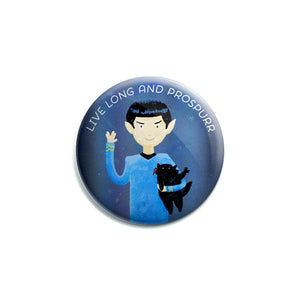 Button - Live Long and Prospurr