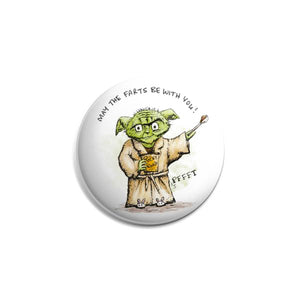 Button - May the Farts Be with You