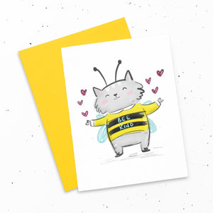 Card - Bee Kind