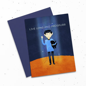 Card - Live Long And Prospurr
