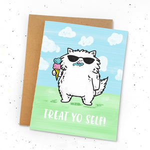 Card - Treat Yo Self
