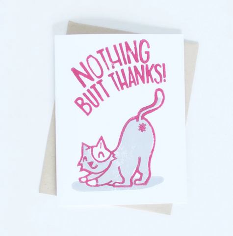 Card - Nothing Butt Thank You
