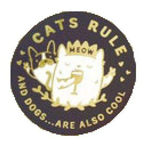 Button - Cat Rule