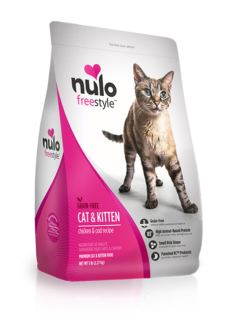 NULO Cat Food - Cat & Kitten - Chicken & Cod