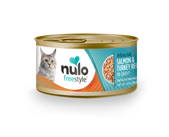 NULO Cat Canned - Minced Salmon & Turkey