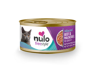 NULO Cat Canned - Minced Beef & Mackerel