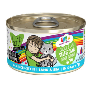 B.F.F. Cat Canned - OMG Selfie Cam! - Chicken & Lamb