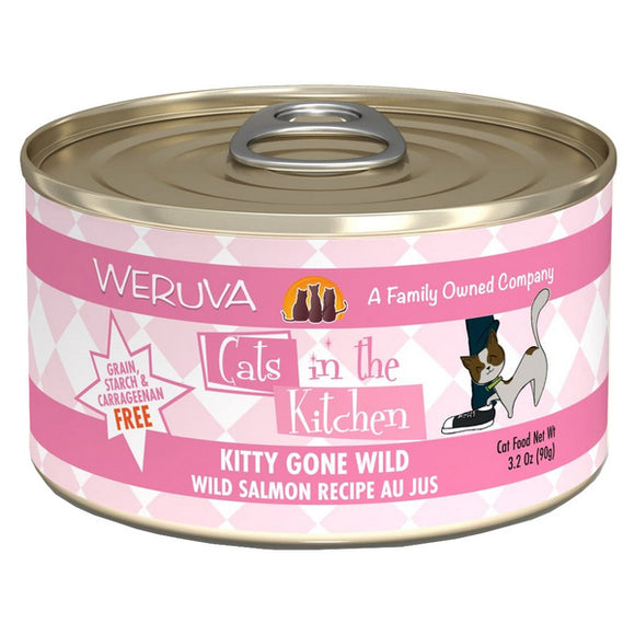 Cats in the Kitchen Canned - Kitty Gone Wild- Salmon