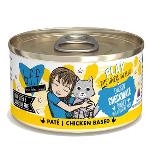 B.F.F. Cat Canned - PLAY Pate Checkmate - Chicken