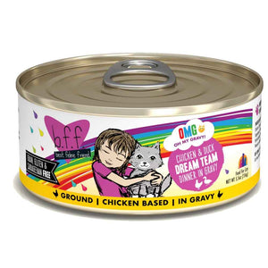 B.F.F. Cat Canned - OMG Dream Team - Chicken & Duck