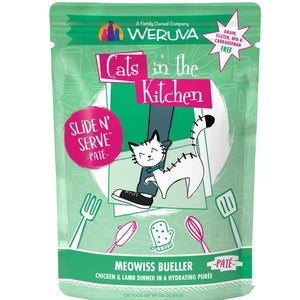 Cats in the Kitchen Pouch - Moewiss Bueller - Chicken & Lamb