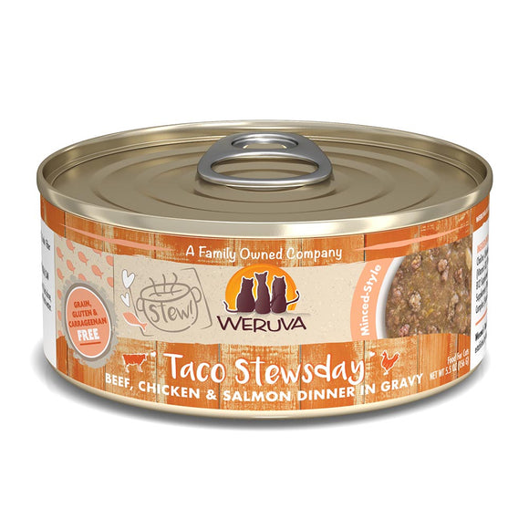WERUVA Cat Canned - Taco Stewsday - Chicken & Salmon