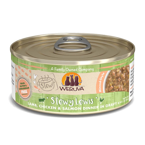 WERUVA Cat Canned- Stewy Lewis - Lamb, Chicken & Salmon