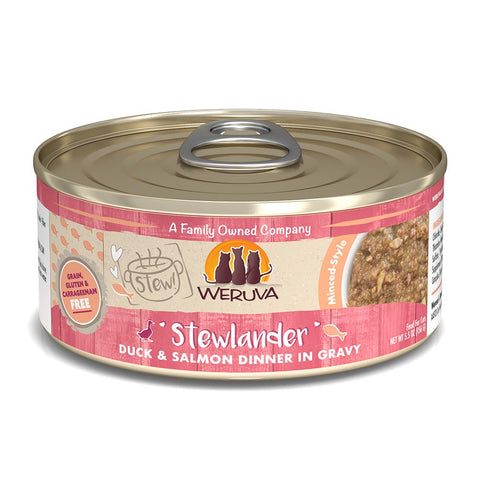 WERUVA Cat Canned- Stewlander - Duck & Salmon