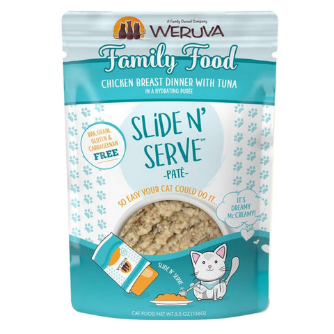 WERUVA Cat Pouch - Family Food - Chicken & Tuna