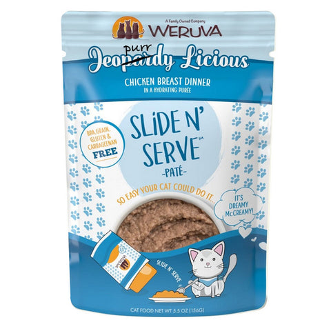 WERUVA Cat Pouch - Jeopurrdy Licious - Chicken