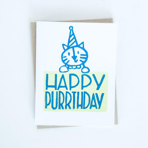 Card - Happy Birthday Cat