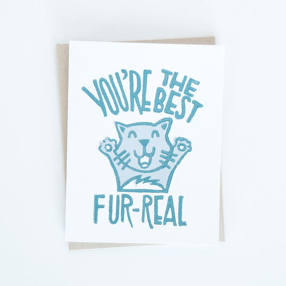 Card - You're the Best Fur-Real
