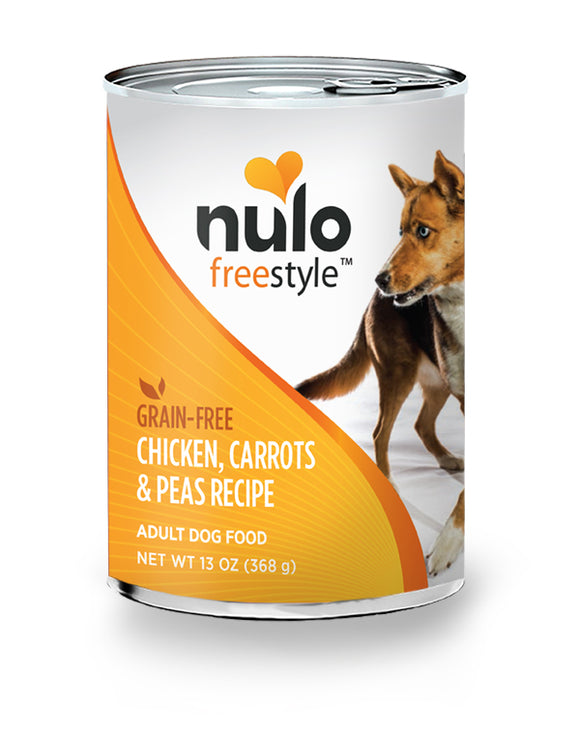 NULO Dog Canned Adult - Chicken, Carrots & Peas Recipe